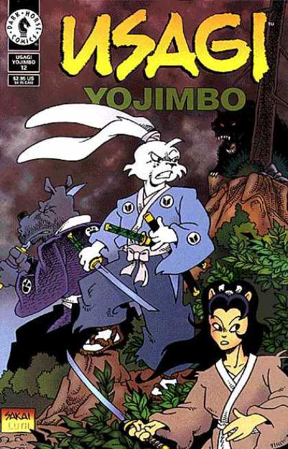 Usagi Yojimbo 12 - Martial Arts - Rabbit - Swords - Monsters - Dog - Stan Sakai, Tom Luth