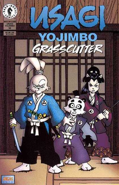 Usagi Yojimbo 18 - Grasscutter - Samurai - Swords - Issue 18 - Dark Horse - Stan Sakai, Tom Luth