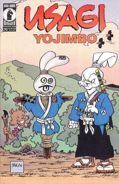 Usagi Yojimbo 30 - Sticks - Rabbit - Straw - Mountain - Bear Girl - Stan Sakai, Tom Luth