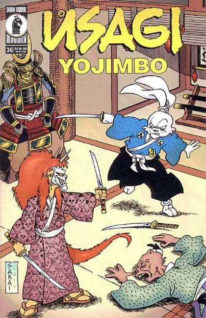 Usagi Yojimbo 36 - Dark Horse - Maverick - Samurai - Ninja - Weapons - Stan Sakai, Tom Luth