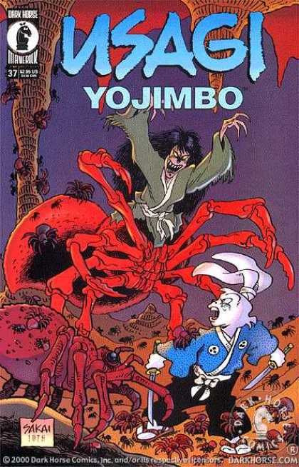 Usagi Yojimbo 37 - Rabbit - Creature - Mutant - Spiders - Swords - Stan Sakai, Tom Luth