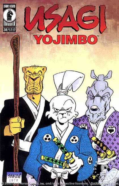 Usagi Yojimbo 38 - Usagi - Yojimbo - Maverick Comics - Samurai Rabbit - Animal Martial Artists - Stan Sakai, Tom Luth