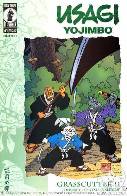 Usagi Yojimbo 41 - Chapter 2 - Samuri Sword - Rabbit - 41 - Black Pants - Stan Sakai, Tom Luth