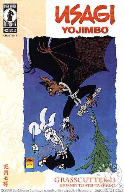 Usagi Yojimbo 42 - Grasscutter Ii - Journey To Atsuta Shrine - Bat - Talons - Sword - Stan Sakai, Tom Luth