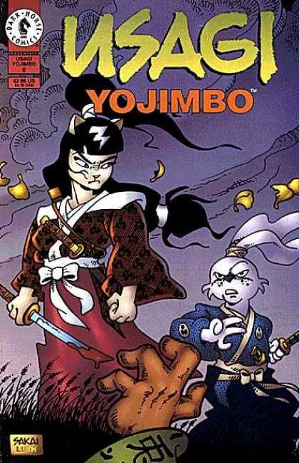 Usagi Yojimbo 6 - Cat - Rabbit - Sword - Samurai - Blood - Stan Sakai, Tom Luth