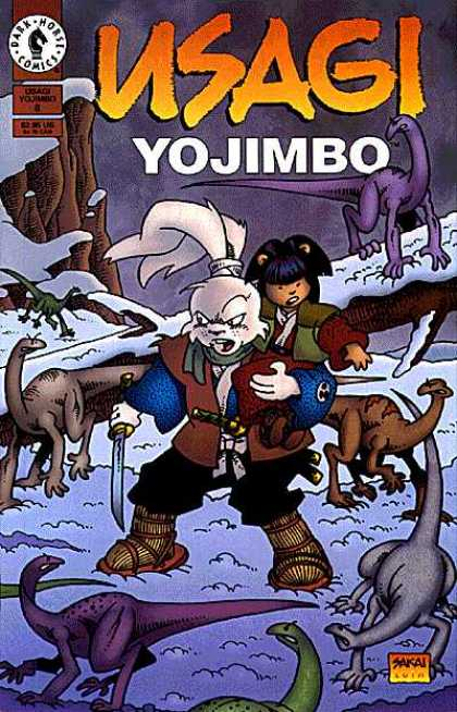 Usagi Yojimbo 8 - Rabbit - Dinosaurs - Snow - Samurai - Anthropomorphic Characters - Stan Sakai, Tom Luth