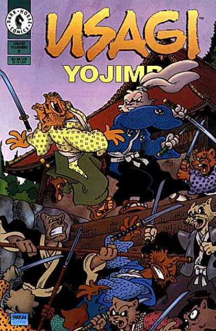 Usagi Yojimbo 9 - Usag - Fight - Rat - Cat - Sword - Stan Sakai, Tom Luth