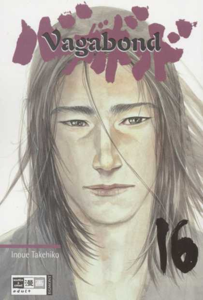 Vagabond 16 - Long Hair - Pointed Nose - Man - Gray Hair - Strands