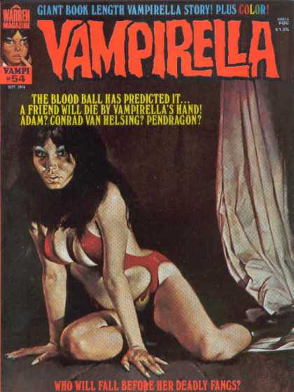 Vampirella 54 - Adam - Pendragon - Woman - Curtain