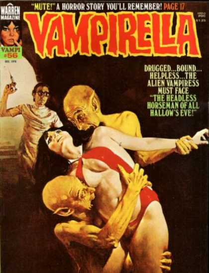 Vampirella 56 - Drugged Bound - Alien Vampiress - Blood Suckers - Flesh Eatrs - Bad Remembers