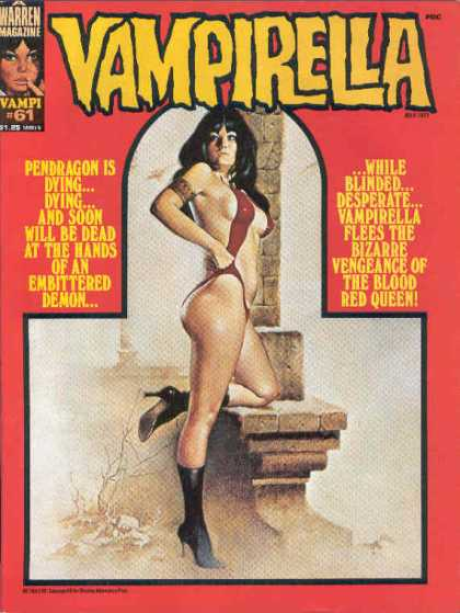 Vampirella 61 - The Blood Red Queen - Pendragon - Embittered Demon - Vengeance - Vampi 61