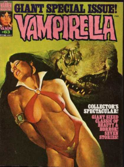 Vampirella 63 - Monster - Giant Special Issue - Woman - Collectors Spectacular - Costume