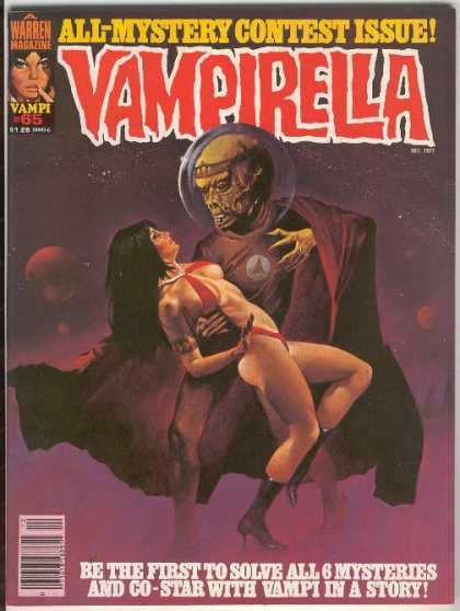Vampirella 65 - A Warren Magazine - All-mystery Contest Issue - Allien - Moon - Space