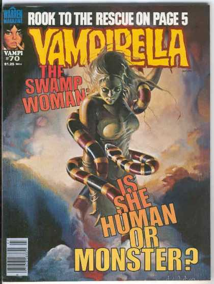 Vampirella 70 - Snake - Monster - Scary - Evil - Horror