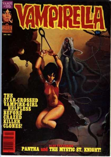 Vampirella 95 - Warren Magazine - Vmpi - Woman - Monster - Pantha