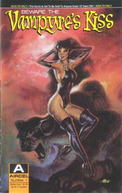 Vampyre's Kiss 1 - Adults Only - Comic - Goth - Aircel - No 1