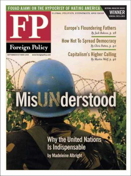 Various Magazines - Foreign Policy