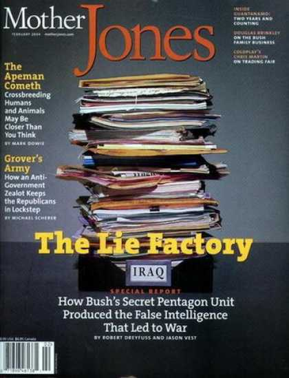 Various Magazines - Mother Jones