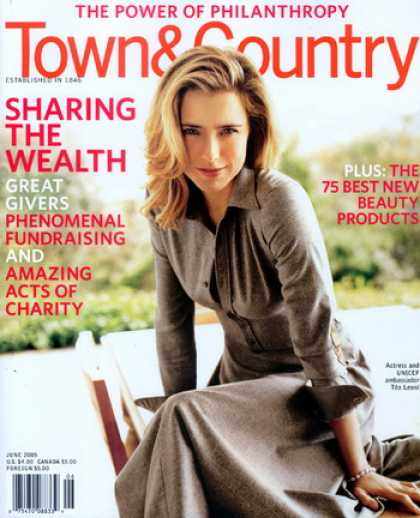 Various Magazines - Town & Country