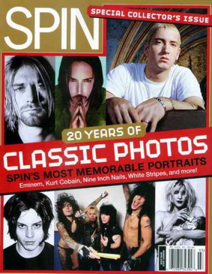 Various Magazines - Spin