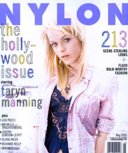 Various Magazines - Nylon