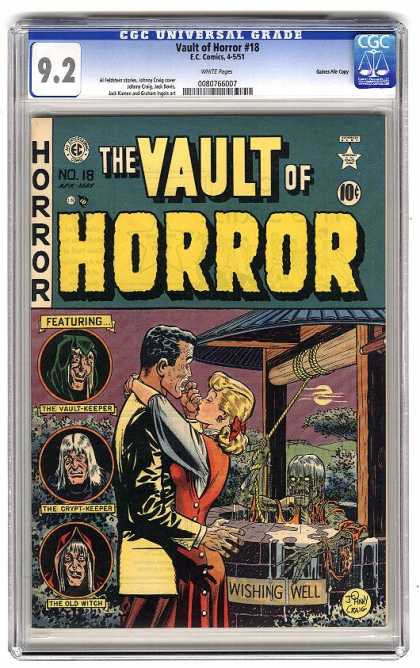 Vault of Horror 18 - The Vault - Horror - Wishing Well - Vault Keeper - Creatures