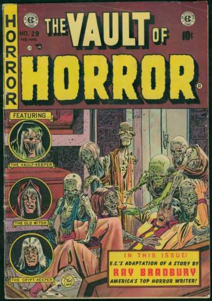 Vault of Horror 29 - The Old Witch - Crypt Keeper - Zombies - Scary - Attacks