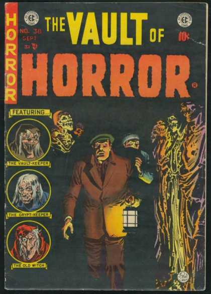 Vault of Horror 38 - Featuring - Monster - Man - Approved By The Comics Code - The Old Witch