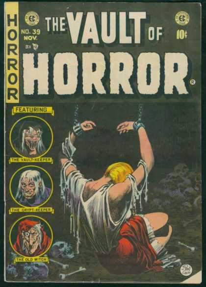 Vault of Horror 39 - Lady - Tie - Hair - Arm - Leg