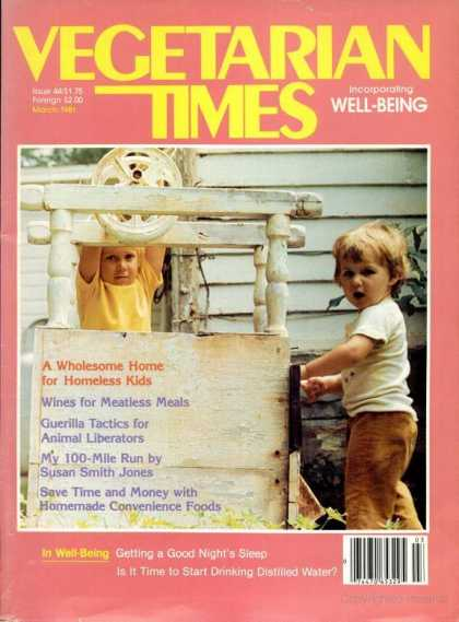 Vegetarian Times - March 1981