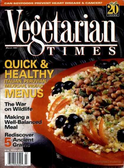 Vegetarian Times - March 1994