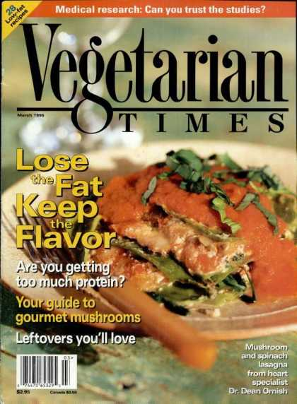 Vegetarian Times - March 1995