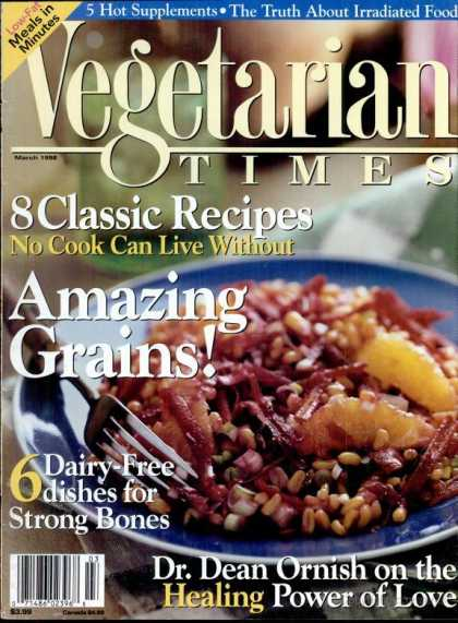 Vegetarian Times - March 1998