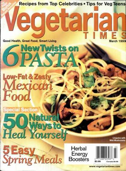 Vegetarian Times - March 1999