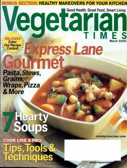 Vegetarian Times - March 2000