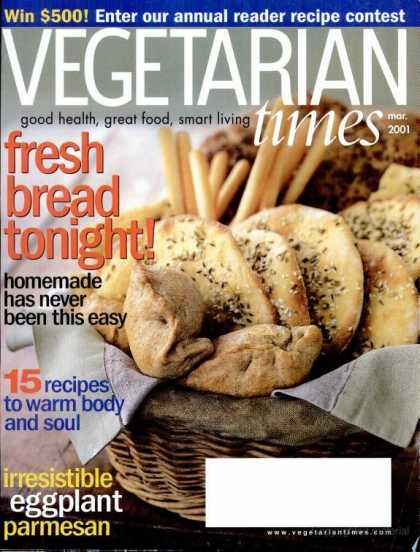 Vegetarian Times - March 2001