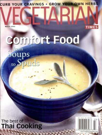 Vegetarian Times - March 2002