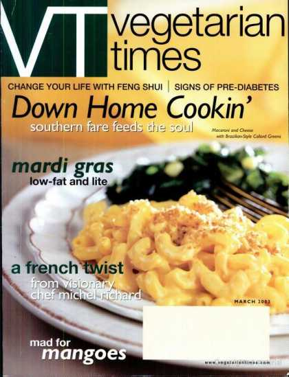 Vegetarian Times - March 2003