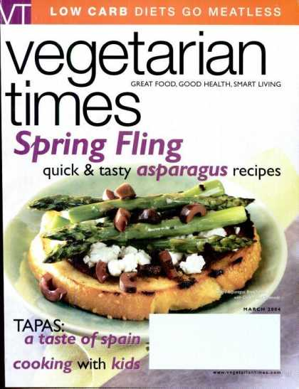 Vegetarian Times - March 2004