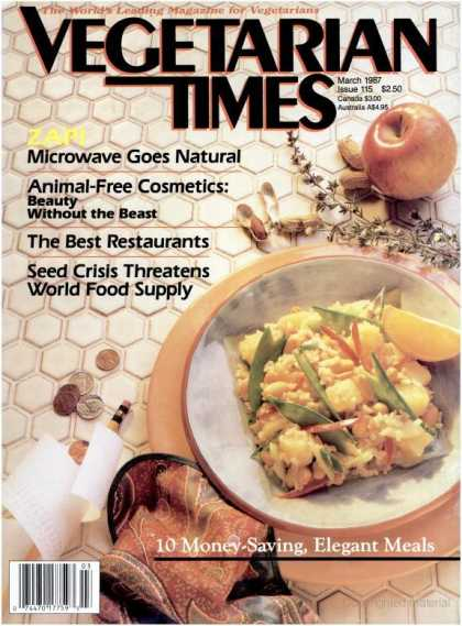 Vegetarian Times - March 1987