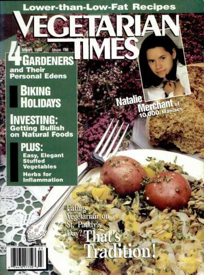 Vegetarian Times - March 1989