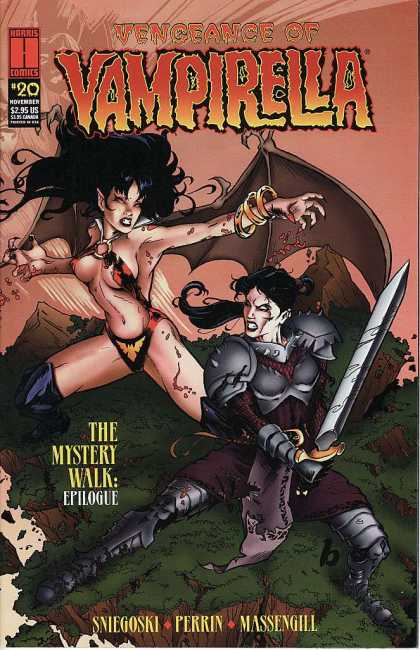 Vengeance of Vampirella 20 - Why Women Engage In Chick Fight - Antisocial Behaviour - Secrets Of The Women Ancestors - Forgiveness Is So Hard To Do - Vampire Heroine