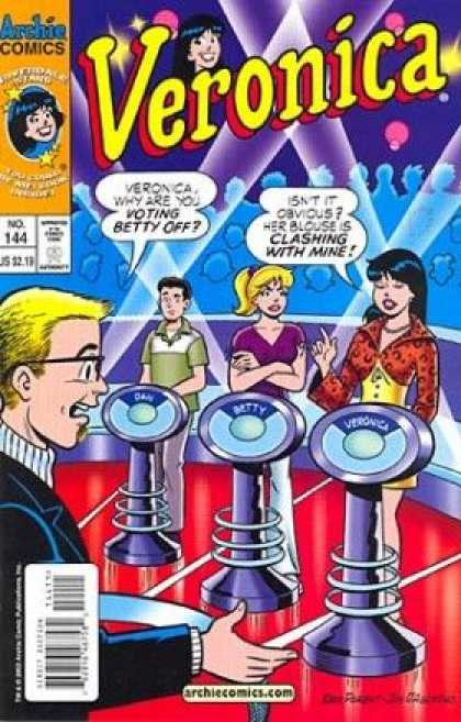 Veronica 144 - Archie Comics - Veronica - Voting Betty Off - No 144 - Gameshow - Dan Parent, Jon D'Agostino