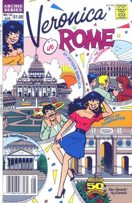 Veronica 16 - The Colosseum - Tourists - Man In Love - The Pantheon - Rome - Dan Parent