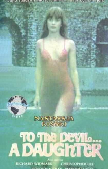 VHS Videos - To the Devil A Daughter