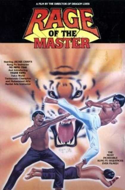 VHS Videos - Rage Of the Master