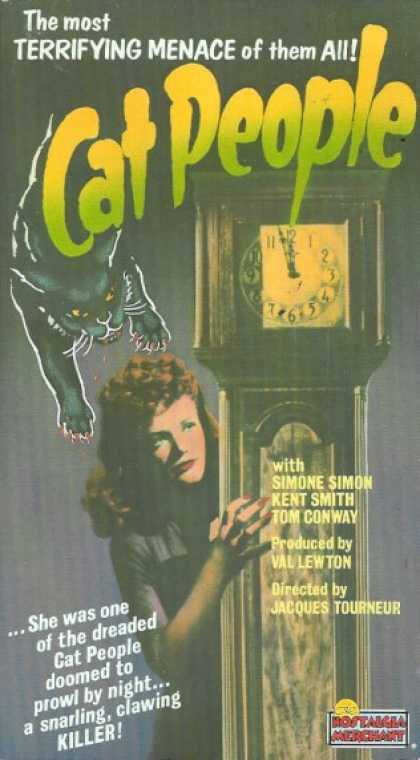 VHS Videos - Cat People Nostalgia
