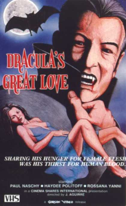 VHS Videos - Dracula's Great Love