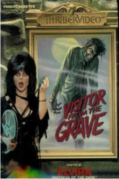 VHS Videos - Visitor From the Grave Thrillervideo