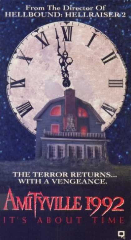 VHS Videos - Amityville 1992 It's About Time